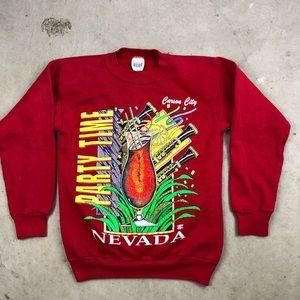 Vintage Carson City Nevada Crewneck Sweatshirt